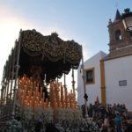 Virgen de los Dolores por la peana
