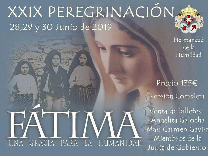 XXIX Peregrinación a Fátima