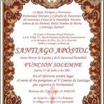 Cultos Santiago Apóstol 2019
