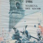 Cartel Semana Santa 1986
